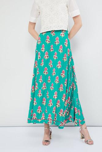 MAX Floral Print Skirt