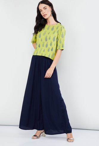 MAX All-Over Print Short Sleeves Top