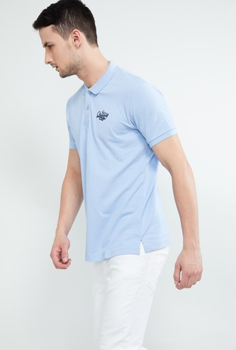 MAX Patch Detail Slim Fit Polo T-shirt