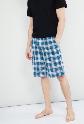 MAX Checked Woven Shorts