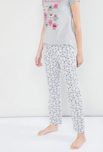 MAX Printed Knitted Pyjamas