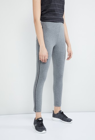 MAX Textured Tape Detail Track Pants