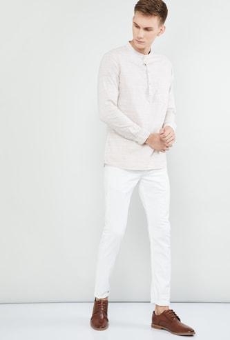 MAX Textured Regular Fit Short Kurta