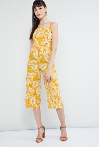 MAX Tropical Print Jumpsuit
