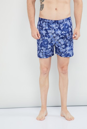 MAX Combed Cotton Botanical Print Boxers