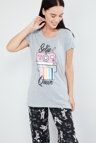 MAX Graphic Print Lounge T-shirt