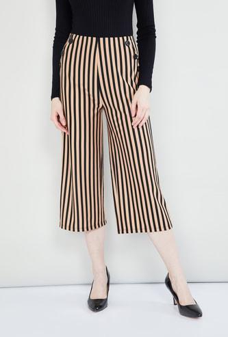 MAX Striped Culottes