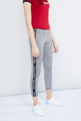 MAX Textured Cropped Treggings
