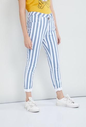 MAX Striped Slim Fit Jeans
