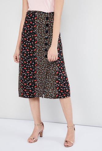 MAX Printed Skirt