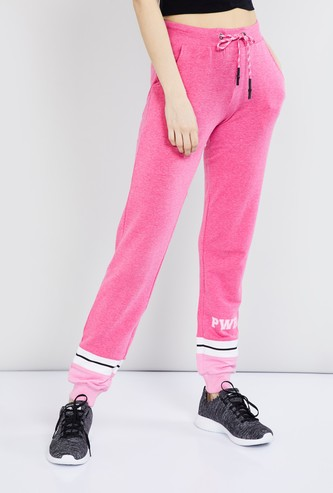 MAX Striped Knitted Joggers