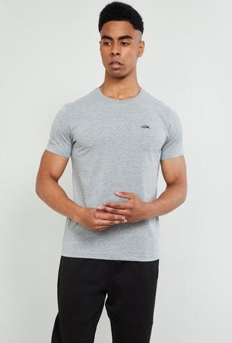 MAX Textured Short Sleeves Regular Fit T-shirt