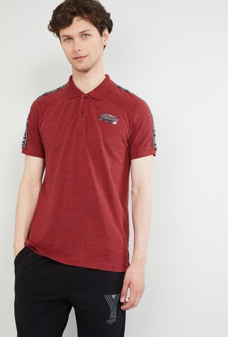 MAX Regular Fit Slub T-shirt