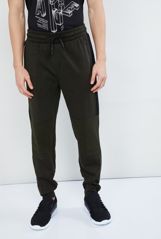 MAX Panelled Knitted Joggers