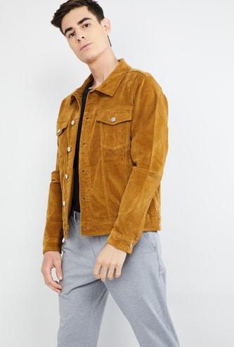 MAX Ribbed Casual Jacket