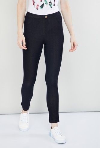 MAX Textured Jeggings