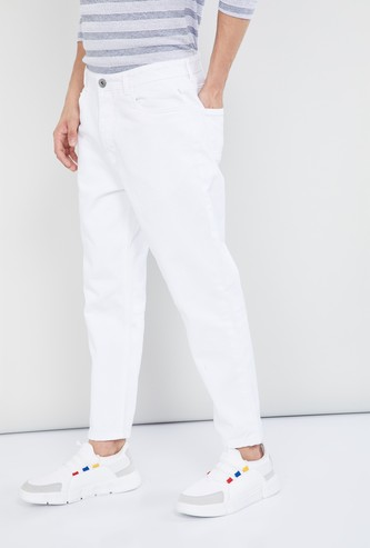MAX Ice Washed Carrot Fit Jeans