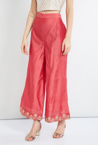 MAX Embroidered Palazzos
