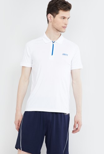 MAX Solid Polo Regular Fit T-shirt