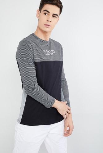 MAX Striped Slim Fit T-shirt