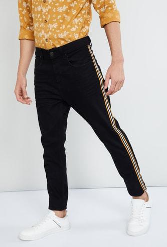 MAX Tape Detail Slim Fit Jeans
