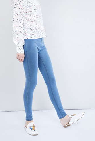 MAX Solid Full Length Jeggings