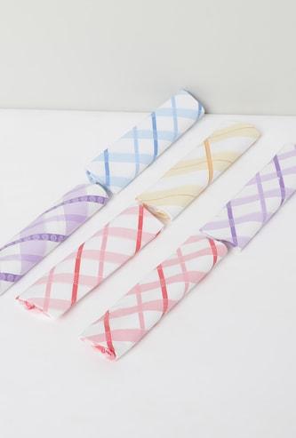 MAX Checked Handkerchief- Set of 6