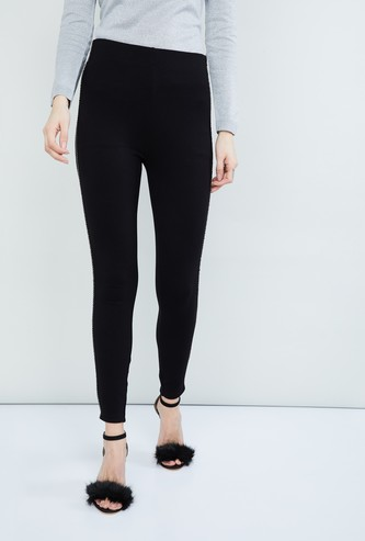 MAX Solid Slim Fit Treggings