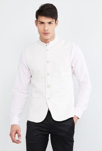 MAX Textured Waistcoat