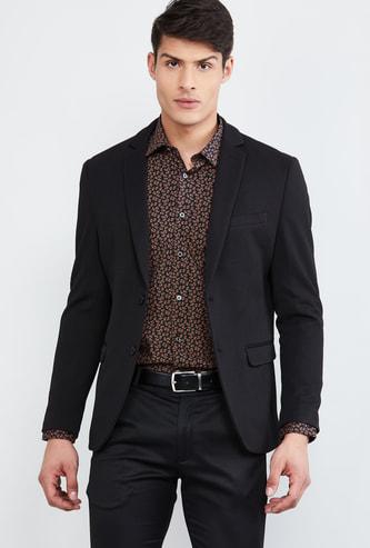 MAX Textured Casual Blazer