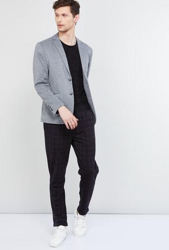 MAX Melange Textured Casual Blazer