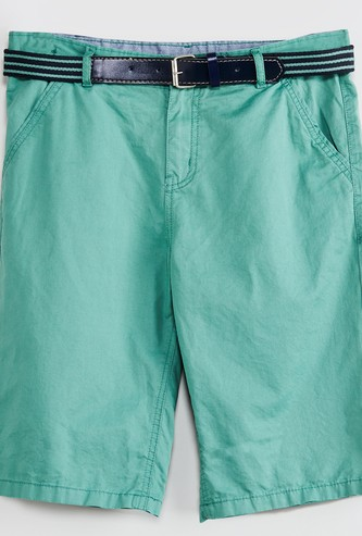MAX Solid Shorts with Belt