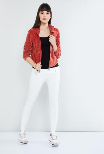 MAX Textured Hooded Jacket