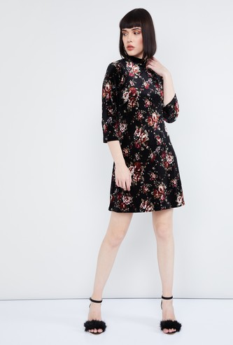 MAX Floral Print Shift Dress