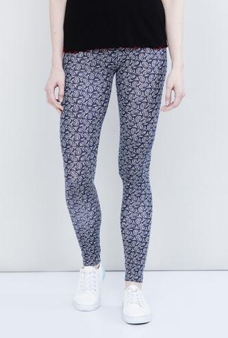 MAX Paisley Print Leggings