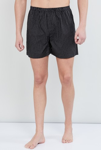 MAX Checked Woven Boxers