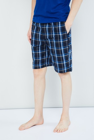 MAX Checked Elasticated Shorts