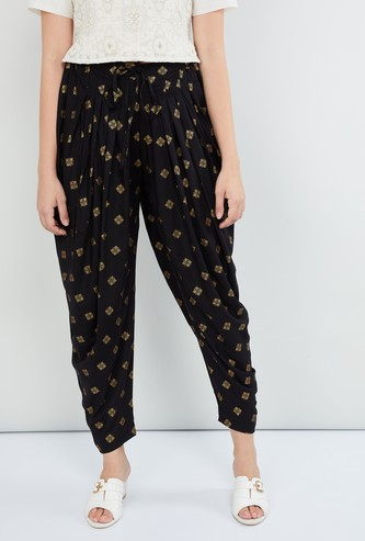 MAX Printed Patiala Pants