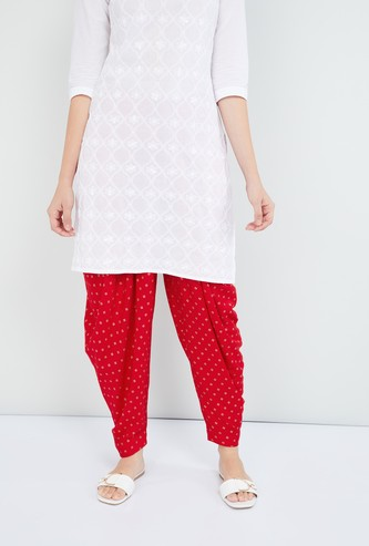 MAX Printed Full Patiala Pants