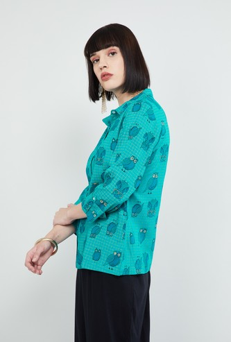 MAX Printed Ethnic Shirt