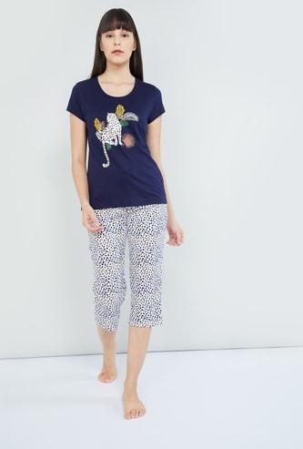 MAX Printed Loungewear- Set of 2 Pcs.