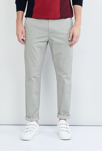MAX Textured Slim Fit Chinos