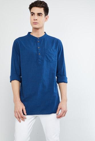 MAX Textured Shirt Kurta
