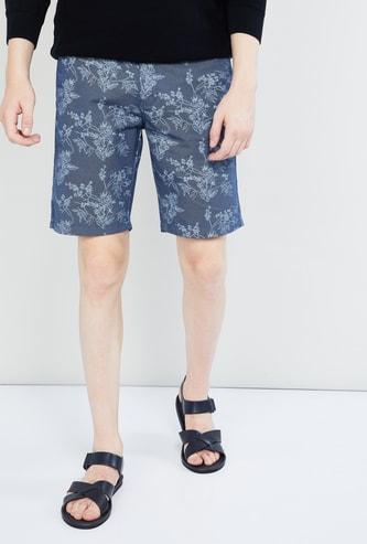 MAX Printed Regular Fit Shorts