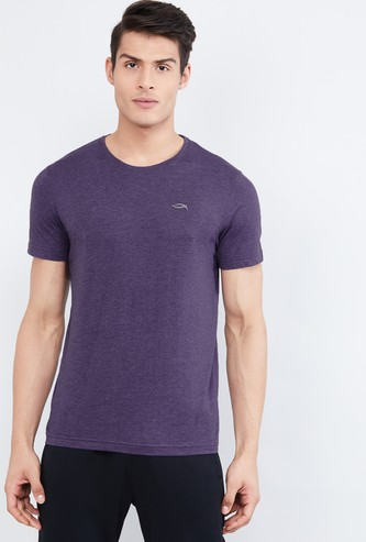 MAX Textured Crew Neck Lounge T-shirt