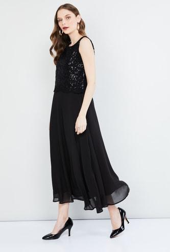 MAX Embellished Maxi Dress