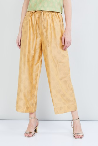 MAX Printed Ethnic Straight Pants