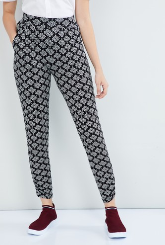 MAX Printed Knitted Pants