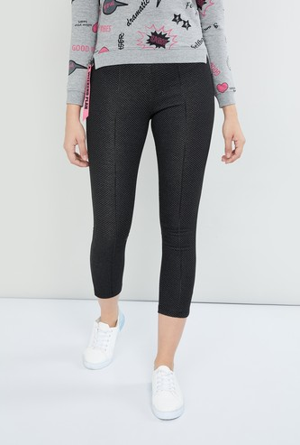 MAX Textured Elasticated Pants
