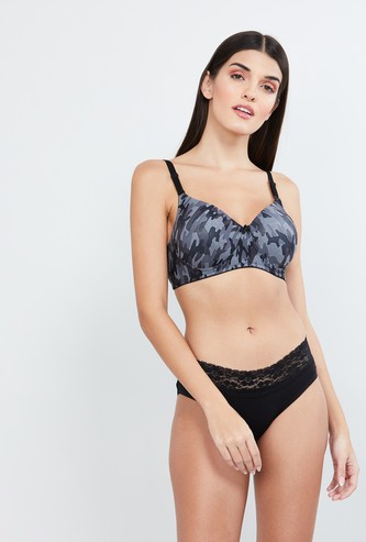 MAX Printed Padded T-shirt Bra